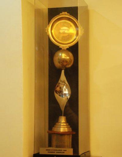 Award of Excellence ( RUNNER UP )